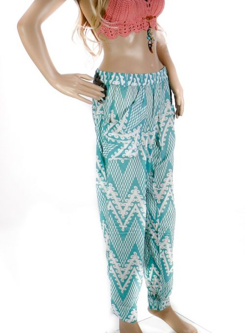 Haremshose? Kendra Pants! Bohemian relaxed-fit Look aus Rayon ab 49,-