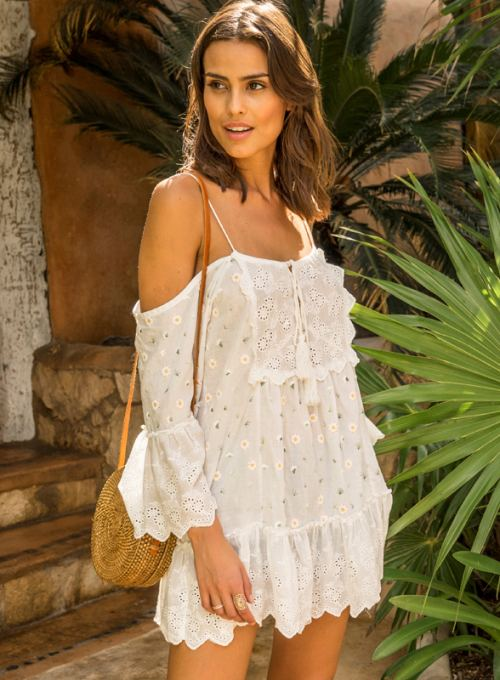 Miss June Boho Tunika - dein Bohochic Bare-Shoulder Must Have ab 128,-