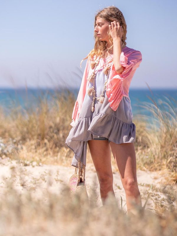 Arya Tie Dye Tunic - the airy summer dream in soft tie dye look for 69,- €.