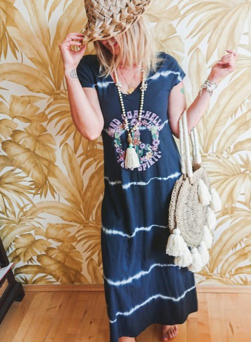 T-Shirt Batik Dress Coachella - Your Hippie It-Piece for every day only 67,-
