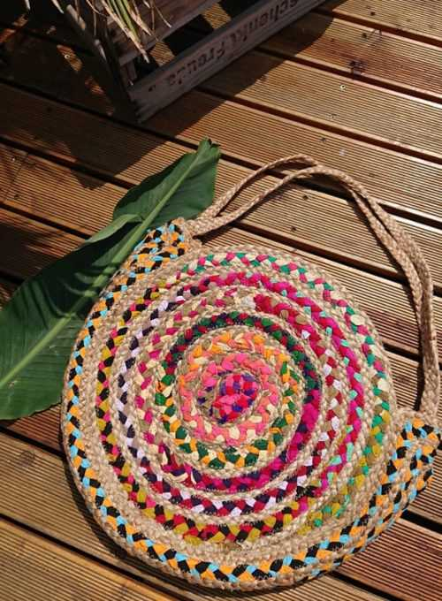 Ibiza Bag - the Bohochic summer trend of the season from jute 67,-