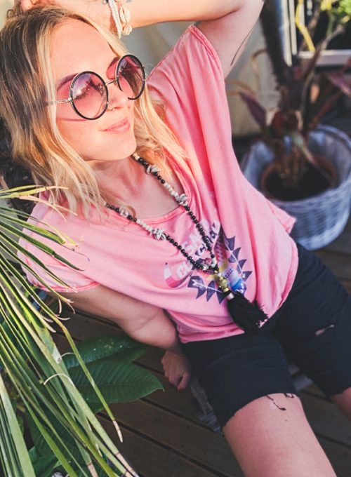 The Coachella T-Shirt - Your Hippie It-Piece for every day only 39,-