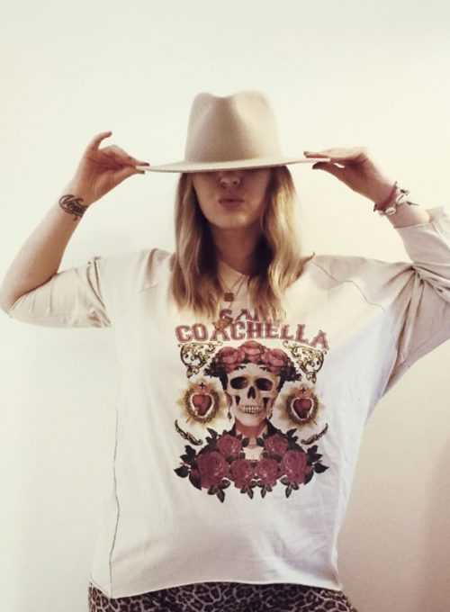 Frida Sweater - Lasercut Sweatshirt im L.A. Style für 45,-