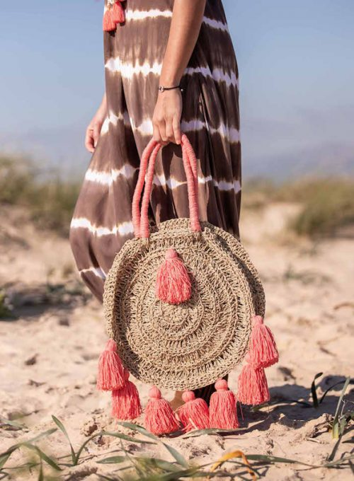 Strawbag Levante - the Bohostyle summerbag for City and Beach for 65,-