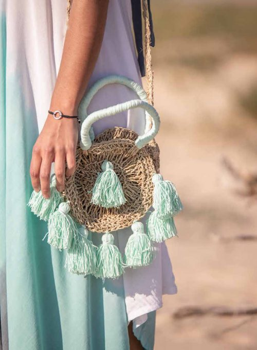 Strawbag Levante - the Bohostyle summerbag for City and Beach for 49,-