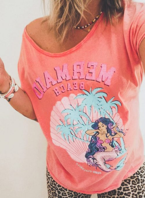 Tshirt Mermaid - The It-Piece in L.A. Surferstyle for 45,-