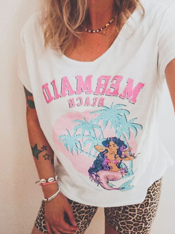 Tshirt Mermaid - Das It-Piece im L.A. Surferstyle für 45,-