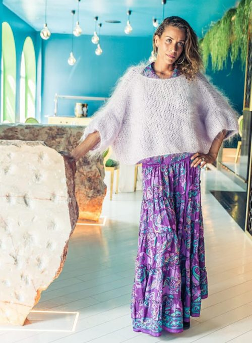 Silk skirt Alessia - the answer to cloudy autumn days for 69,-