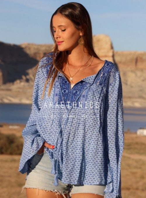 Tunic Savina - is like a day at the sea, pure summer feeling for 56,-