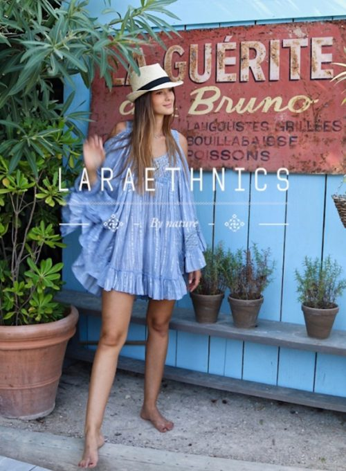 Boho caftan Sonria - the airily chic summer dream made of cotton for 56,-